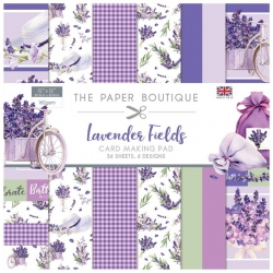 Paper Boutique • Lavender fields 12x12 Card making pad