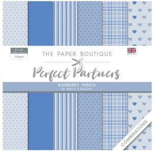 Paper Boutique • Perfect partners paper pad Blueberry punch