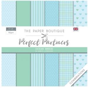 Paper Boutique • Perfect partners paper pad Ocean breeze