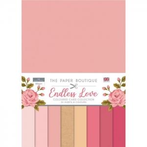Paper Boutique • Endless love colour card collection