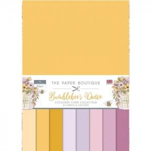 Paper Boutique • Bumblebee's Dance colour card collection