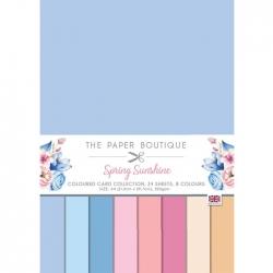 Paper Boutique • Spring sunshine Colour card collection