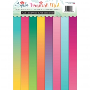 Creative Expressions • Gradients card pack Tropical mist