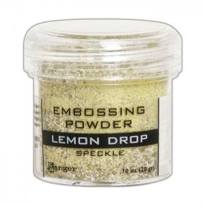 Ranger • Embossing powder speckle Lemon drop