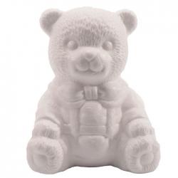 Vaessen Creative • Piepschuim beer zittend 16cm