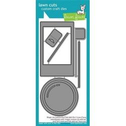 Lawn Fawn - Magic Iris Camera Pull-Tab Add-On