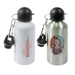 Aluminium water bottle 500 ml (WBO-500-W)