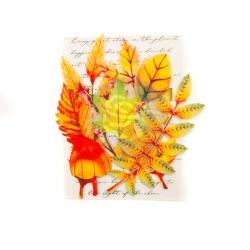Prima Marketing Leaf Embellishments Autumn Maple