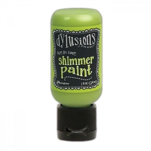 Ranger • Dylusions shimmer paint Fresh lime