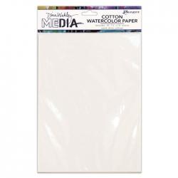 "Ranger • Dina Wakley media cotton watercolor paper 10 stuks  7,5x10"""