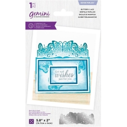 Gemini Butterfly Lace Edgeables Die