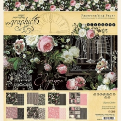 Graphic 45 Elegance 8x8 Inch Paper Pad