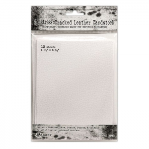 Ranger • Distress cracked Leather cardstock 14x10,80cm