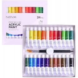 Trimcraft Nova Premium Acrylic Paints (24pcs)