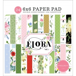 Carta Bella Flora No.4 6x6 Inch Paper Pad