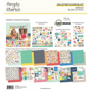 Simple Stories Sunkissed Collector's Essential Kit