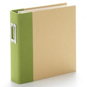 Simple Stories SN@P! Binder 6x8 Inch Green