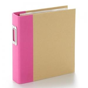 Simple Stories SN@P! Binder 6x8 Inch Pink