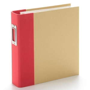 Simple Stories SN@P! Binder 6x8 Inch Red