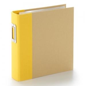 Simple Stories SN@P! Binder 6x8 Inch Yellow