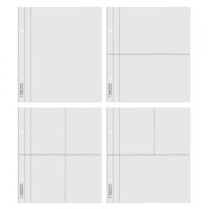 Simple Stories SN@P! Flipbook Page Refills Multi 6x8 Inch