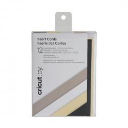 Cricut  Joy Insert Cards 12-pack Neutrals (2007253)