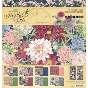 Graphic 45 Blossom 12x12 Inch Collection Pack