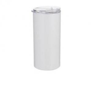 Sublimatie Thermal tumbler 480 ml met rietje voor - Wit