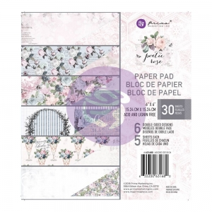 Prima Marketing Poetic Paper 6x6 Inch Paper Pad