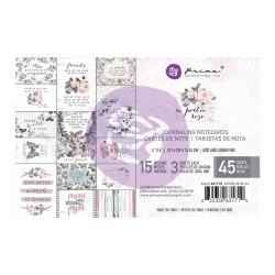 Prima Marketing Poetic Rose 4x6 Journal Cards