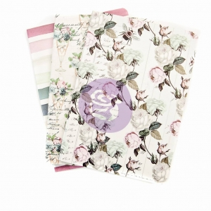 Prima Marketing Poetic Rose Notebook Inserts