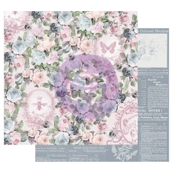 Prima Marketing Poetic Rose 12x12 Inch Sheets Royal Command 1 vel