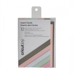 Cricut Joy Insert Cards 12-pack Pastel
