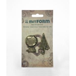 Mitform Travel 2 Metal Embellishments