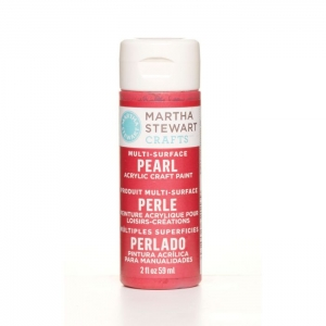 Martha Stewart • Verf 59ml pearl Holly berry