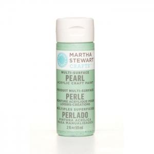 Martha Stewart • Verf 59ml pearl Mint chip