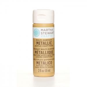 Martha Stewart • Verf 59ml metallic Pale bronze