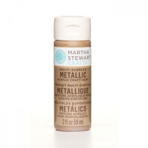 Martha Stewart • Verf 59ml metallic Rose gold