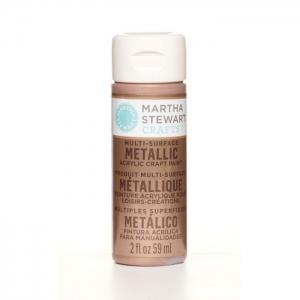 Martha Stewart • Verf 59ml metallic Rose copper