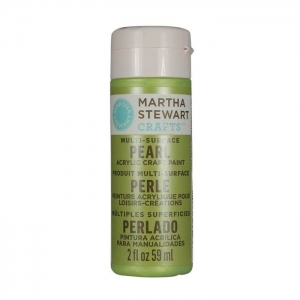 Martha Stewart • Pearl verf 59ml Scallion