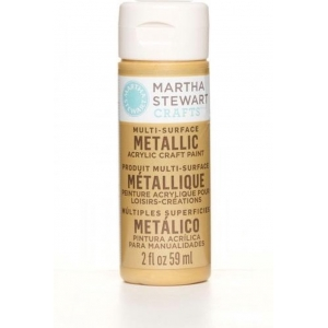 Martha Stewart • Verf 59ml metallic Brushed bronze