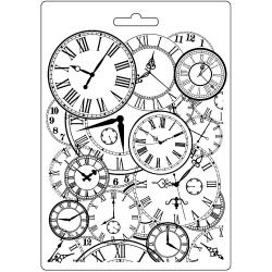 Stamperia Soft Mould A5 Clocks