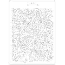 Stamperia Soft Mould A5 Passion Dancer