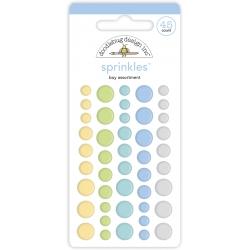 Doodlebug Design Baby Boy Assortment Sprinkles (45pcs) (6759) (842715067592)