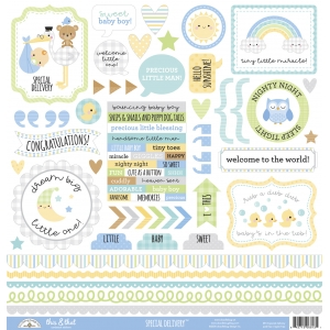 Doodlebug Design Special Delivery This & That Stickers (6813)
