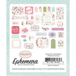 Carta Bella Flora No.3 Ephemera