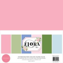 Carta Bella Flora No.4 12x12 Inch Coordinating Solids Paper Pack