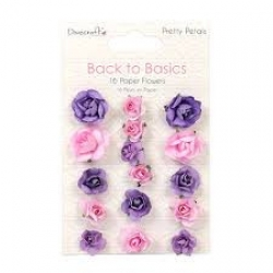 Dovecraft Back to Basics Pretty Petals Paper Flowers