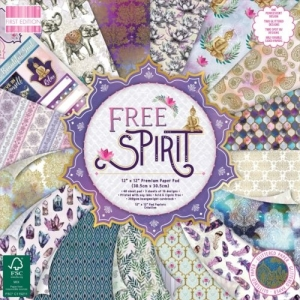 First Edition Free Spirit 12x12 Inch Paper Pad