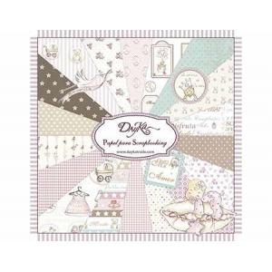 DayKa Trade Niña 8x8 Inch Paper Pad
